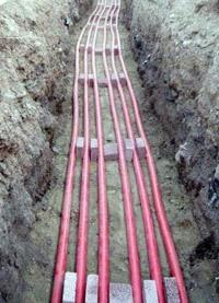 прокладка силовых кабелей. Челнинские электрики.