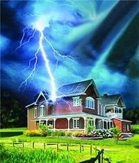Молниезащита зданий, молниеприемник г.Набережные Челны