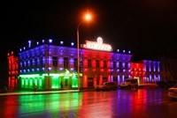 Наружное освещение: архитектурное освещение зданий, фасадов дома в Набережных Челнах