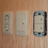 Монтаж, ремонт, замена выключателей Набережные Челны